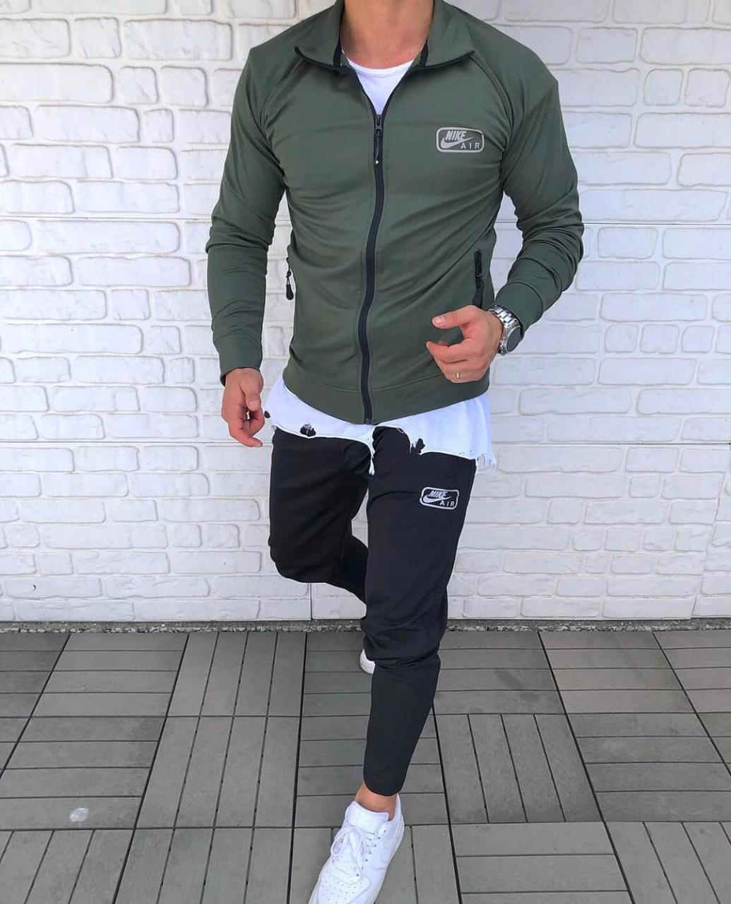 Мужской спортивный костюм NIKE Турция хаки