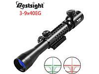 Оптический Прицел BestSight 3-9x40EG с подсветкой, фото 1
