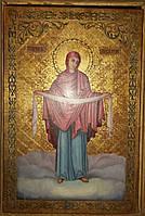 Икона Покрова Пресвятой Богородицы 19 век