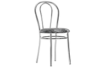 Стул TULPAN CHROME (Тюльпан хром барный, кухонный стул) ТМ Новый Стиль