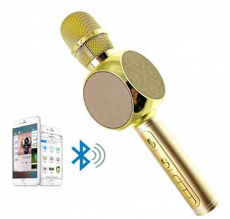 Беспроводной портативный Bluetooth микрофон для караоке Magic Karaoke YS-63, фото 2