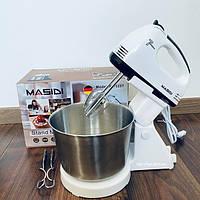 Миксер кухонный с чашкой Masidi YY-133T 7 скоростей 260 W, фото 1
