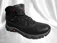 Зимние мужские спортивные и кожаные кроссовки ECCO