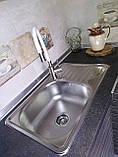 Мойка для кухни Platinum 6642 Decor 0,8мм декорированная, фото 4