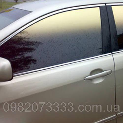 Автомобильная плёнка Gold-Bronze 35 gradient Sun Control  для тонировки стёкол авто (ширина рулона 0,762) (пм)