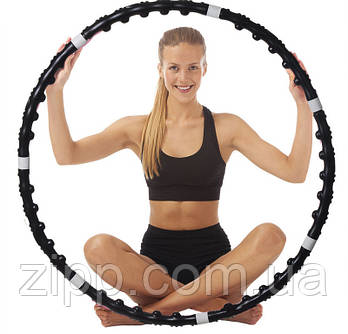 Масажний обруч з магнітами «Massaging Hoop Exerciser»