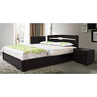 Кровать Каролина с подъемным механизмом 160 х 200 см (венге)