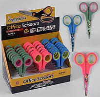 Ножиці дитячі 3 кольори в блоці