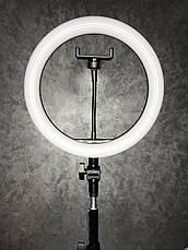 Кольцевая LED лампа 2 (1 крепл.тел.) USB (26см), фото 3