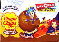 Шоколадные шары Чупа чупс Фиксики Chups Chups, 18 шт