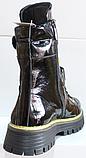 Ботинки высокие женские зимние замшевые от производителя модель КЛ230-1, фото 7
