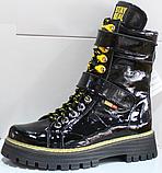 Ботинки высокие женские зимние замшевые от производителя модель КЛ230-1, фото 4