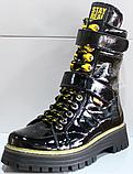 Ботинки высокие женские зимние замшевые от производителя модель КЛ230-1, фото 5