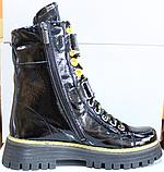 Ботинки высокие женские зимние замшевые от производителя модель КЛ230-1, фото 6