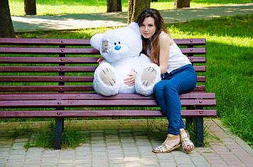 Плюшевий ведмедик Потап 90 см Білий