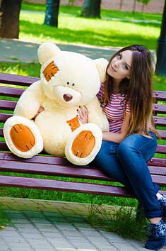 Плюшевий ведмедик Потап 90 см Персиковий