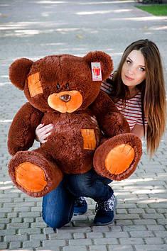 Плюшевий Ведмедик Потап 90 см Шоколадний
