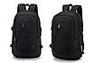 Рюкзак мужской городской Dxyizu черный, фото 2