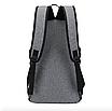 Рюкзак мужской городской Dxyizu черный, фото 4