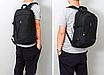 Рюкзак мужской городской Dxyizu черный, фото 3