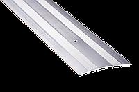 Порог для пола алюминиевый 11А 0,9 метра 3х80мм алюминиевый , фото 1