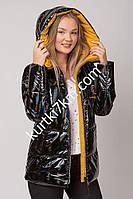 Стильная зимняя куртка лакэ Snow owl 20232