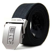 Пояс с металлической пряжкой «5.11 Series» чёрный
