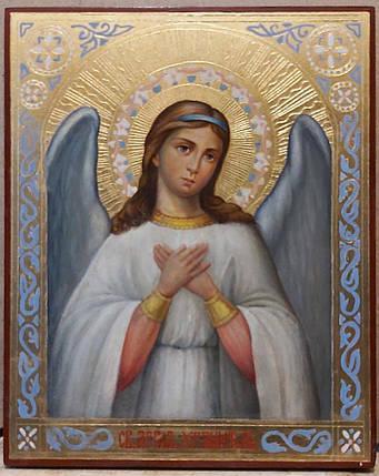 Икона Ангел хранитель 19 век, фото 2