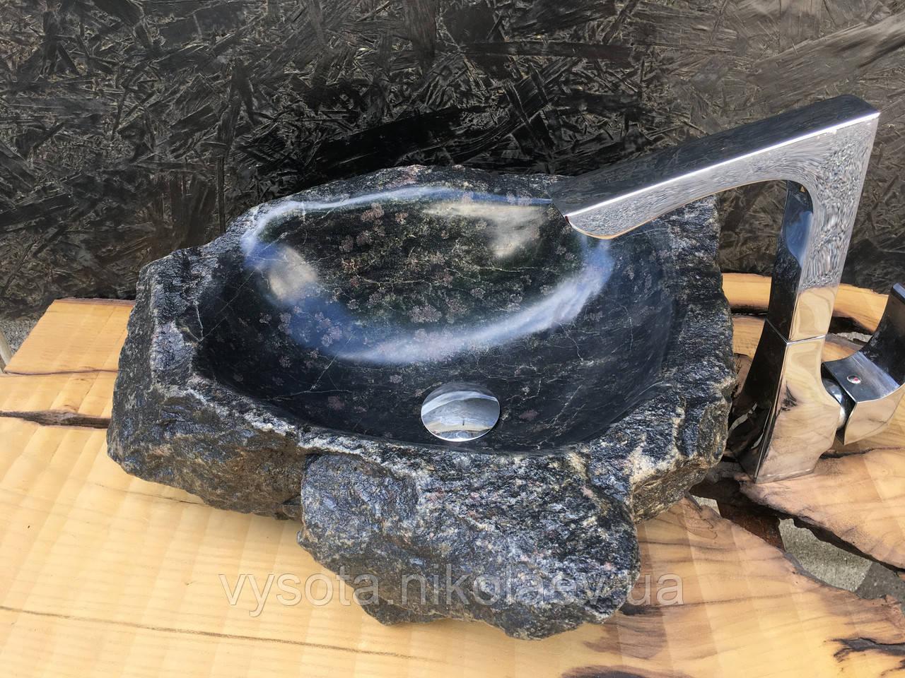 Раковина з натурального граніту Black Galaxy