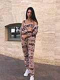Женский спортивный костюм тройка 39-570, фото 4