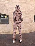 Женский спортивный костюм тройка 39-570, фото 7