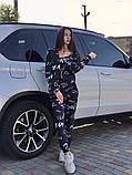 Женский спортивный костюм тройка 39-570, фото 9