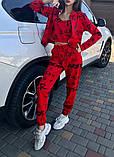 Женский спортивный костюм тройка 39-570, фото 8