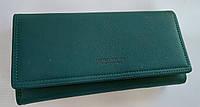 Женский кошелек 6932-033 зеленый Кошелек с искусственной кожи оптом недорого Одесса 7 км, фото 1