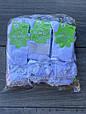 Дитячі підколінки шкарпетки бавовна KBS для дівчаток з бантиками 3 роки 12 шт в уп білі, фото 2