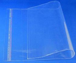 Пакети поліпропіленові 350х450 з клейкою стрічкою (25 мкм)