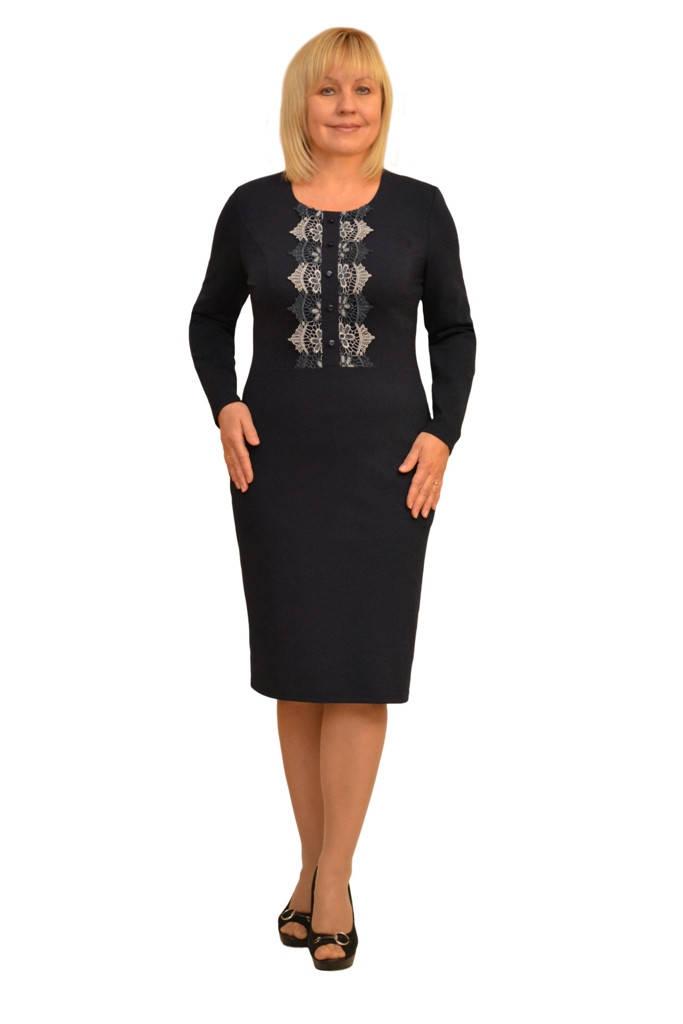 """Платье """"Флеминг"""" -  Модель 1264 (возможна замена кружева, как под фото)"""