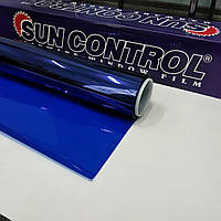 Тонировочная плёнка NR Blue 20 Sun Control витражная для перегородок. Ширина рулона 1,524 (цена за кв.м.)