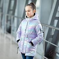 Куртка-жилет для девочки демисезонная «Нейли» только 32,34, фото 1