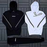 Спортивный костюм мужской Adidas Лампас 2 кофты + штаны