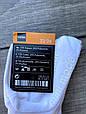 Шкарпетки з заворотом підколінках бавовна з гальмами для дівчаток і хлопчиків 23-26. 12 шт в уп білі, фото 3