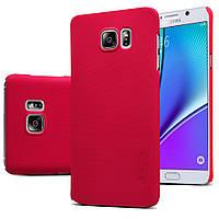 Чохол Nillkin для Samsung Galaxy Note 5 N920 червоний (+плівка), фото 1