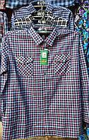 Рубашка теплая мужская батальная байка