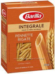 Макаронні вироби БЕЗ ЯЄЦЬ Інтеграли Penne Rigate Barilla Італія 500г