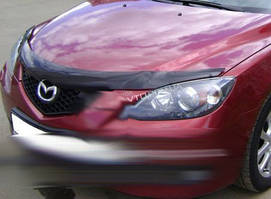 Mazda 3 2003-2009 гг. Дефлектор капота SD (EGR)