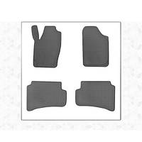 Skoda Fabia 2014↗ рр. Гумові килимки (4 шт, Stingray Premium)