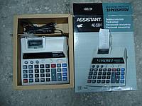 Инженерный калькулятор с печатью Assistant AC-5301 на запчасти
