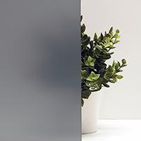 Декоративная интерьерная плёнка Серая Матовая для стеклянных перегородок, дверей Matt Grey(1,524) (пм)