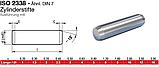 ISO 2338 (DIN 7; ГОСТ 3128-70) нержавеющий штифт цилиндрический, фото 2