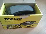 Тормозные колодки Textar (страна Германия) - дисковые, барабанные, передние и задние, фото 3